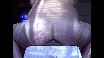 monstrous ass-plug gapes his butt