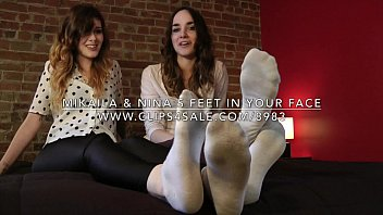 mikaila amp_ nina039_s feet in your face - wwwclips4salecom898315982558