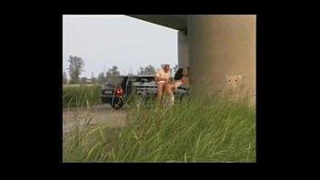 two italiana exhibitionists become pornography actors