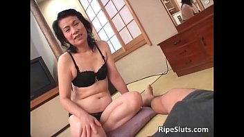 promiscuous mischievous mature japanese gargles on.