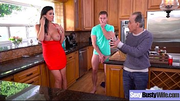 yam-sized breast hooters housewife reagan foxx love rock.