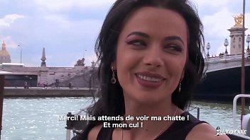 LA COCHONNE - Romanian babe Shalina Devine enjoys hard anal with French stud
