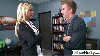 Sex In Office With Busty Slut Nasty Girl video-07