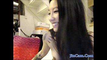 Asian chick masturbation webcam show