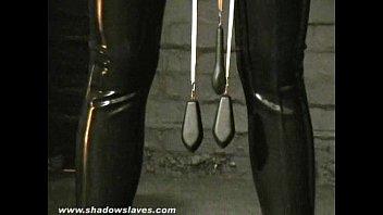 sensory abandoned slaveslut cherry torns leather fetish and.