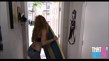 Hot Red Head Stepsister Sucking Brothers Cock POV