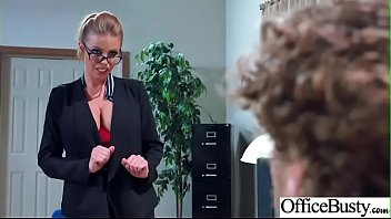 (Britney Amber) Big Tits Sluty Girl In Hardcore Sex In Office clip-06