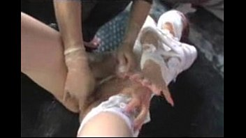 japanese gal wrap and strapped for.