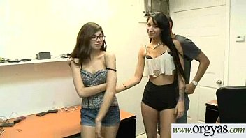 Hard Sex On Cam For Money With Easy Teen Sluty Girl (Esmi Lee&amp_Ava Taylor) video-09