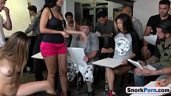 Melissa And Nicole Sharing Big Cock Threesome