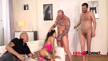 Sex Demon Roxy Lips enjoys a Surprise airtight Big Dick Anal Gang Bang FS017