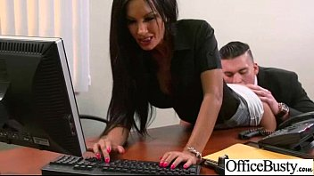 giant-chested hoe employee nymph get fuck-a-thon in office vid-17