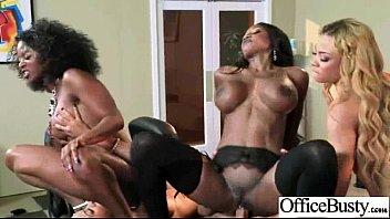 Hardcore Sex With Office Huge Tits Girl (anya diamond jade jasmine) movie-03