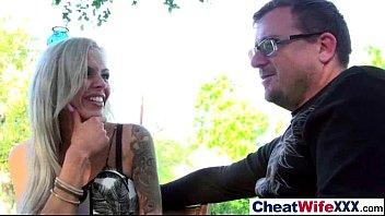(alexa tomas) Real Slut Wife Cheats In Hard Style Sex Tape video-08