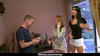 fledgling woman accepts money for orgy from stranger 13