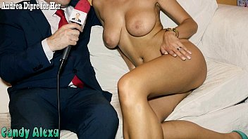 Candy Alexa undressed and masturbates herself for Andrea Dipr&egrave_
