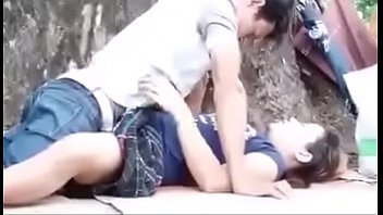 supah-smashing-hot japanese copule lovemaking on public