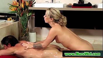 Hot Babe Gives Nuru Gel Massage With Happy End 20