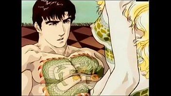 Sexy tattooed anime hentai girl