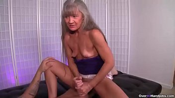 ov40-mature supah-bitch stroking a youthfull stud