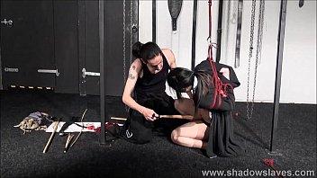 japanese spanking and chinese suspension confine bondage of.