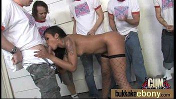 Hot Ebony Gangbang Fun Interracial 28