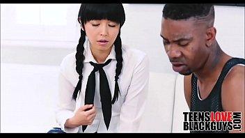 dark-hued boy bangs his nubile japanese.