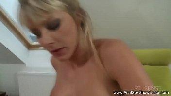 Czech Republic Blonde MILF Anal Sex