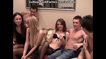 fuckfest with russian student in stocking