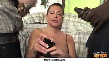 cougar porno - huge dark-hued weenie do mature.