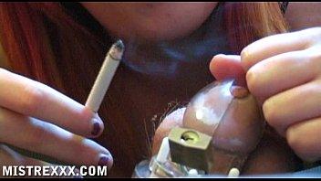smoking dominatrix hj taunt