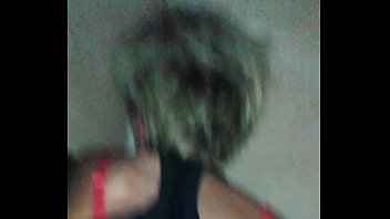 brief ash-blonde hair mature banged in.