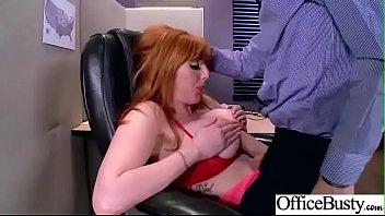 Sex In Office With Sluty Big Juggs Girl (Lauren Phillips) movie-17