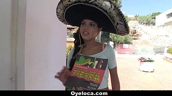 oyeloca - steaming latina plumbed during a cinco.