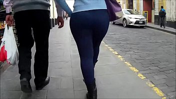 culazo azul candid backside - mega.