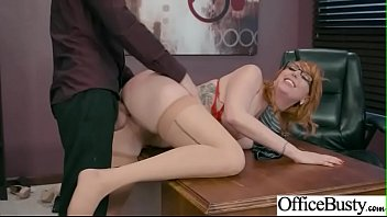 Office Big Tits Girl (Lauren Phillips) Enjoy Hardcore Intercorse mov-26
