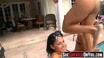 34  hotwife tarts deepthroat of stripper at.
