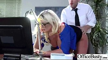 Gorgeous Girl (julie cash) With Big Boobs Like Sex In Office clip-25