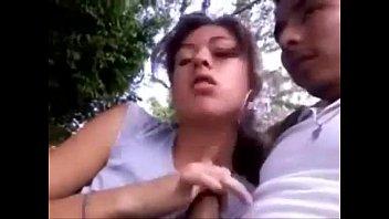 Teresa [Mexicana Pegando Tremenda Mamada En El Parque De Irapuato]