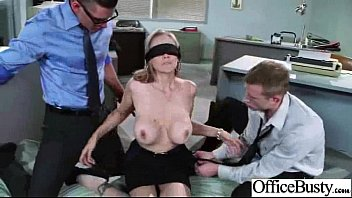 office ginormous-titted nymph julia ann get rock-hard style.