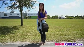 Fucking Over A Hot Petite College Chick - Bambi Brooks 00090