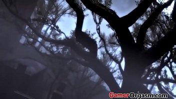 GamerOrgasm.com | Fatal Punish Lara Croft Hardcore Sex