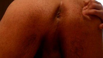 rump slot contractions ejaculation close up.