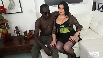 CASTING ALLA ITALIANA - Romanian BBW takes anal at interracial Italian casting