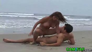 bang-out beach free-for-all gonzo porno movie