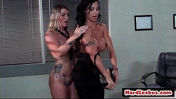 Sexy Big Tit Lesbo Babes Going Hardcore Nasty Fuck 23