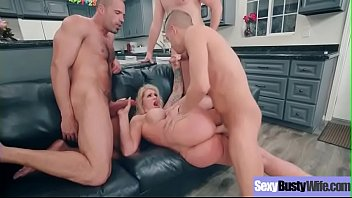 Naughty Sexy Wife (Ryan Conner) With Big Juggs Enjoy Hard Sex vid-22