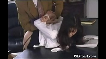 raunchy japanese office fuckfest and facial cumshot free-for-all.