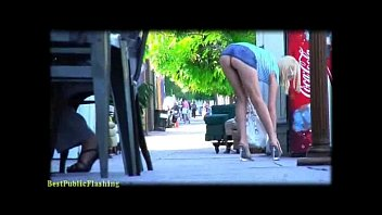 rylie richman miniskirt flashing stunner pt2