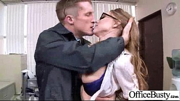 fucky-fucky gauze with biotch office insatiable giant-chested female pin-29